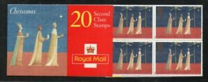 Great Britain Sc 1708a-1709a 1996 Christmas stamp booklets mint NH