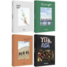 Seventeen 2nd Album [TEEN, AGE] WHITE Version + ONE Folded Poster USA Shipping
