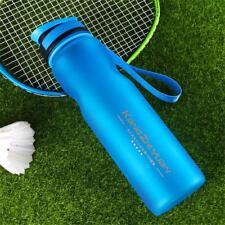 Deportes Al Aire Libre agua potable Botella Anti Derrames ciclismo Vaso de viaje