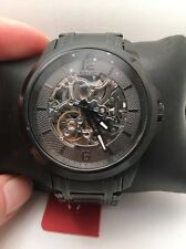 Relic by Fossil Men's ZR12110 Skeleton Analog Display Automatic Black Watch-H15