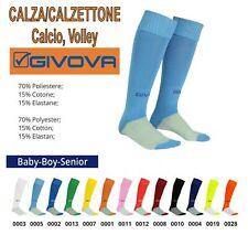 10 Calzettoni GIVOVA Mod. CALZA CALCIO in 11 Colori a scelta, completi, volley