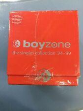 """CD BOYZONE """"THE SINGLES COLLECTION 94/99"""" BOX 16 CDS SINGLE NUOVO SIGILLATO"""