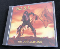 W.A.S.P. Wasp CD Last Command 1985 CDP 7 466362