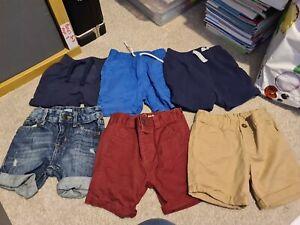 baby boys shorts bundle 12-18