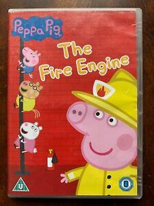 Peppa Pig  DVD The Fire Engine Pig British TV / Children's Cartoon Favourite