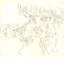 Anime Genga not Cel Bubble Gum Crisis #59