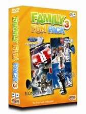 FAMILY FUN PACK 3 FOR MAC * BRAND NEW SEALED ORIGINAL PACKAGING - 4 GREAT GAMES!