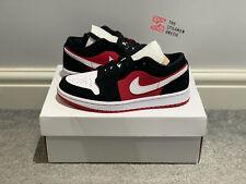 Jordan 1 Low Gym Red/Black/White (Women's) - Size UK5