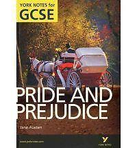 Pride and Prejudice: York Notes for GCSE 2010 By Paul Pascoe