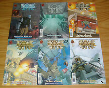 Atomic Robo vol. 6: the Ghost of Station X #1-5 VF/NM complete series + fcbd