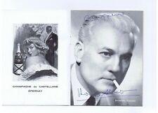 Autographe Raymond Rouleau, Pascale PETIT sur programme théâtre. (réf. RC29)