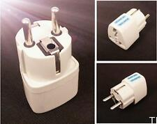 TICA White US UK to EU Euro Plug AC Power Travel Home Charger Adapter Converter