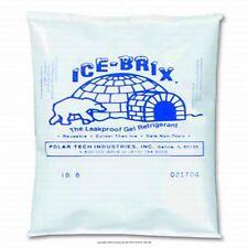 72 Ice-Brix Polar tech Cooler Cold Gel Refrigerant 8 oz