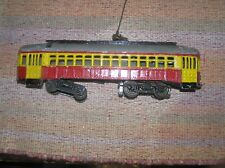 O Scale Cast Zinc 3 Rail Trolley, AC, Runs