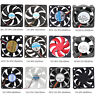 2/3/4Pin 30/40/50/60/70/80/120mm Mini Cooler Cooling Fan DC 12V for PC Computer