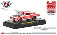 M2 Machines Coca-Cola Release RC02 1968 Plymouth Barracuda Hemi CHASE
