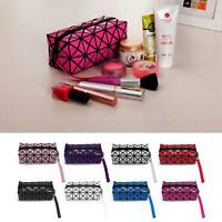 Ladies Travel Cosmetic Bag Organizer Make-Up Bag Toiletry Pouch Wash Pouch UK