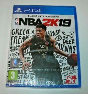 NBA 2K19 PS4 edición española precintado