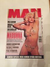 MADONNA Spain MAN MAGAZINE 1992 hard to find ultra rare as ICON LIKE A FANZINE