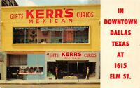 Kerr's Mexican Gifts Curios Dallas Tx H C Crocker Gift Shop