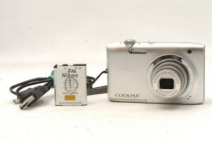 @ Ship In 24 Hrs @ Excellent! @ Nikon Coolpix A100 20.1MP Compact Digital Camera