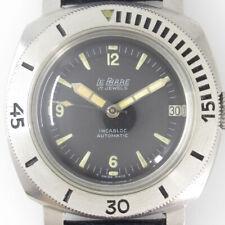 LEPHARE Mini Panerai 692505 Black Dial Automatic Vintage Watch 1960's Overhauled