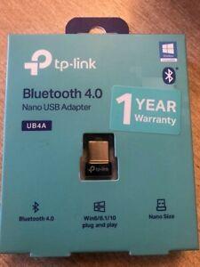 tp-link Bluetooth 4.0 Nano USB Adapter Model No. ub4A(UN) - UB4A New in Box