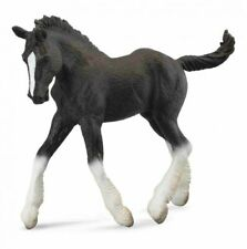 CollectA Black Shire Horse Foal Toy Model Figure 88583 New with tag
