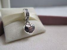 New w/Hinged Box Pandora My Beautiful Wife Locket Charm 791524CZ Anniversary