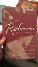 Rashomon and other Stories Ryunosuke Akutagawa 2003