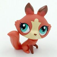 Hasbro Cute Brown Fox LPS Littlest Pet Shop Figure Gift Toy Animals IASK
