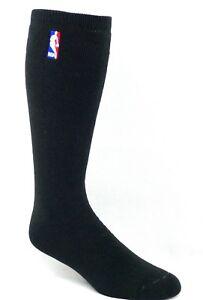 Men's NBA Black Knee High Socks