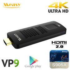M95C 4K Smart Android TV Dongle 1G 8GB Amlogic S905X WiFi H.265 Media Player VP9