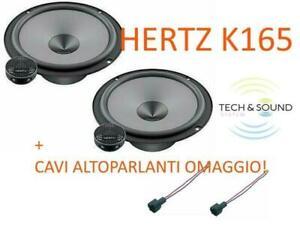 HERTZ K 165 Kit Casse Altoparlanti 2 Vie 300W Woofer 16,5 cm + Tweeter Serie UNO