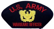 US Army Warrant Officer Iron on Hat Patch F1D12L