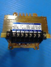 USED NAKAMURA ELECTRIC 89539 TRANSFORMER TYPE ZT 300VA 1 PHASE (D7)