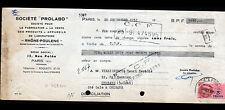 """PARIS (XI°) PRODUITS & APPAREILS de LABORATOIRE """"PROLABO"""" en 1951"""