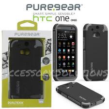 PureGear HTC One M8 (2014) Dualtek Extreme Impact Protection Case Cover Black