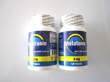 6 MG (Avant 3MG) Mélatonine NCB 240 = 2X120 Tablettes/Bot / Bnsb / Couchage Aid
