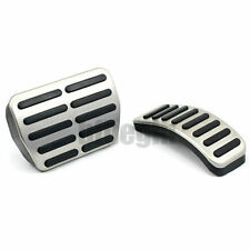 2Stainless Steel AT Pedal Pads For VW Golf Jetta MK4 Bora Polo Beetle Set Kit