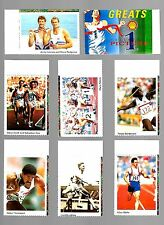 CIGARETTE/TRADE/CARDS. Shell oil. OLYMPIC GREATS. (1992). (Complete Set of 12).