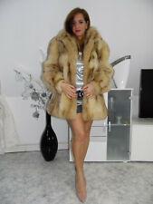 Pelzmantel Fuchs Kojote Pelz Koyote Fur Coat Fourrure Pelliccia Volpe Fox mink