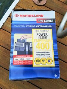 Marineland Emperor 400 Bio-Wheel Power Filter 3 stage filtration 90 Gallon Tank