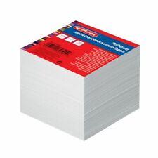 Herlitz Zettelkasten Ersatzeinlagen 9x9 Cm weiß 700blatt Zettelboxeinlage