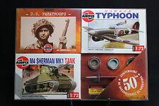 XM007 AIRFIX Collection DDay 50 Anniversaire débarquement 01751 01027 01303 WWII