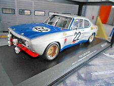FORD Capri RS 2600 RS2600 MKI 24h Spa Winner 1971 #22 Glemser So Minichamps 1:18