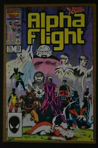 ALPHA FLIGHT # 33 : VERY FINE+ : APRIL 1986 : MARVEL COMICS.