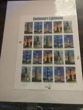 2002 Southeastern Lighthouses .37 USPS Stamps - Sheet of 20 - MINT / MNH Sealed