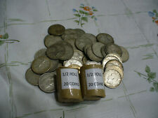 LOT OF 20  PRE 1967  CANADA SILVER COINS QUARTERS 25 CENTS  1/2 ROLL  JUNK