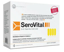 Serovital Dietary Supplement 120 Capsules -30 Day supply- Exp 10/2019 -Fast Ship